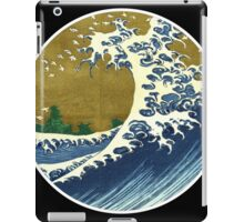 Japanese surf wave iPad Case/Skin