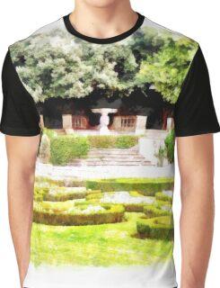 Castel Gandolfo: garden of the Villa Barberini Graphic T-Shirt