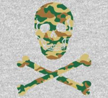 Skull Camouflage / Totenkopf Camouflage One Piece - Long Sleeve