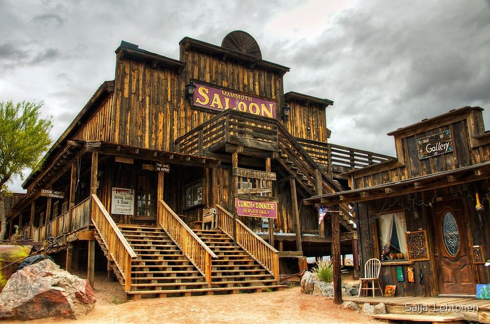 Goldfield Ghost Town - Mammoth Saloon  by Saija  Lehtonen