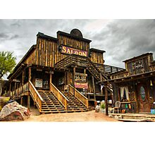 Goldfield Ghost Town - Mammoth Saloon  Photographic Print