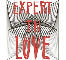 Expert in love. Photographic Print