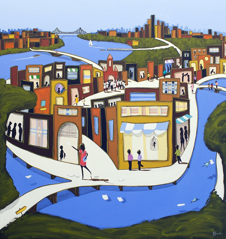 The city heart by Adam Bogusz