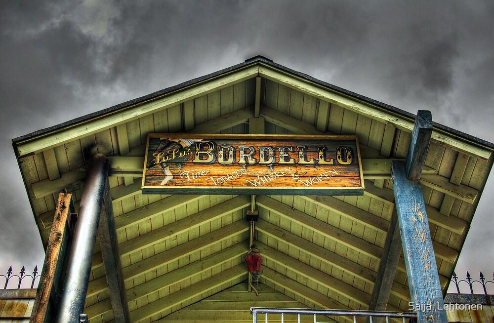 Goldfield Ghost Town - Lu Lu's Bordello  by Saija  Lehtonen