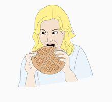 Leslie likes waffles Unisex T-Shirt
