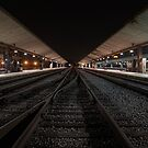 Los Angeles Tracks by jswolfphoto