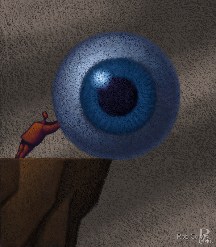 Who's Watching You? by Rob Colvin