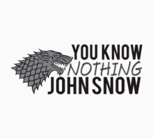 You Know Nothing John Snow by mioneste