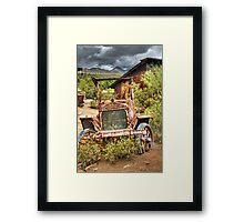 Goldfield Ghost Town - Precious Metal  Framed Print