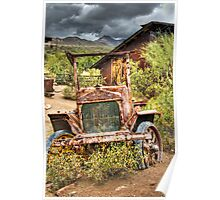 Goldfield Ghost Town - Precious Metal  Poster