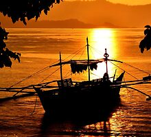 Philippine sunset by sneak