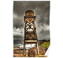 Goldfield Ghost Town - Water Tower  Poster