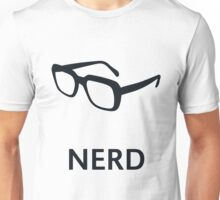 Nerd (Geek / Glasses) Unisex T-Shirt