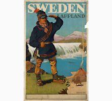 Vintage poster - Sweden Unisex T-Shirt