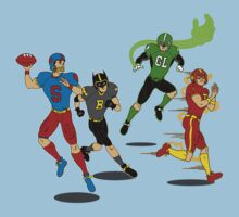 Superhero Football T-Shirt