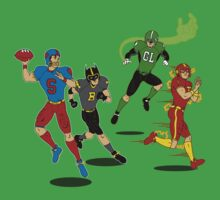 Superhero Football Kids Clothes