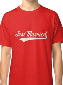 Just Married (Marriage / Wedding / White) Classic T-Shirt