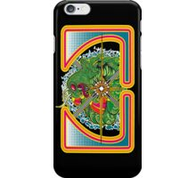 Classic Centipede Woodcut iPhone Case/Skin