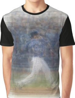Jose Bautista Swing Bat Flip Graphic T-Shirt