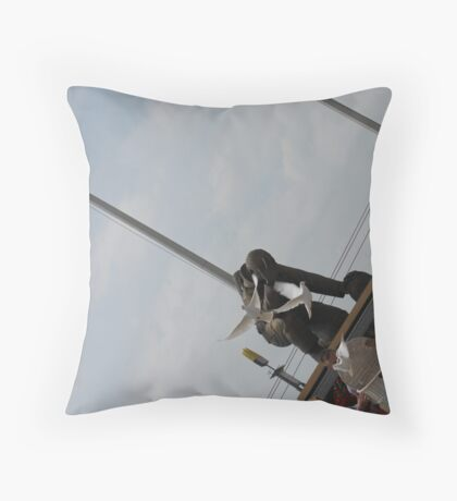 Doves to our Fathers Throw Pillow