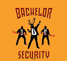 Bachelor Security Devils & Stag (Stag Party Night / 3C) Unisex T-Shirt