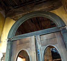 Doorway At Jerome by Bob Christopher