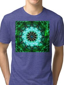 Green Compass Tri-blend T-Shirt
