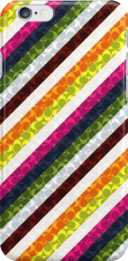 Colourful Stripe Case by Jenifer Jenkins