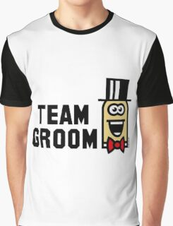 Team Groom Cartoon (Bachelor Stag Party / 3C) Graphic T-Shirt