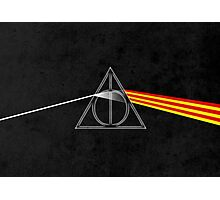 the darkside of the deathly hallows Photographic Print