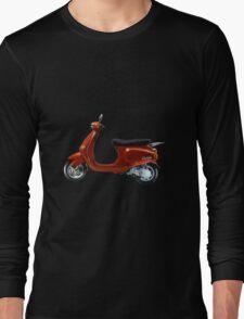 Vespa Scooter Long Sleeve T-Shirt
