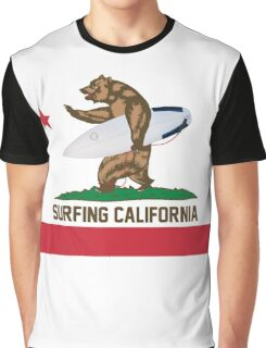 Surfing California Graphic T-Shirt