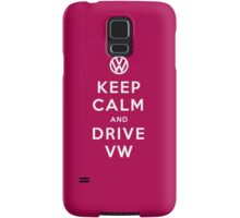 Keep Calm and Drive VW (Version 02) Samsung Galaxy Case/Skin