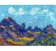 Ridgeline (pastel) Photographic Print