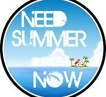Need Summer Now by notonlywaves