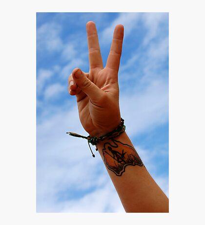 Australia Sign Of Peace Photographic Print