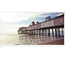 Old Orchard Pier Photographic Print