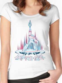 TRON-PRIME Women's Fitted Scoop T-Shirt