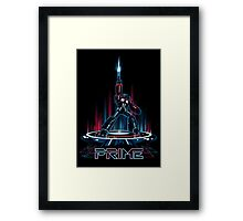 TRON-PRIME Framed Print