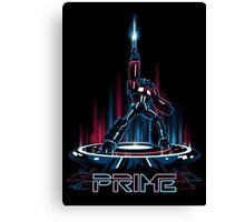 TRON-PRIME Canvas Print