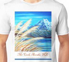 Mt Cook, Aoraki NZ Unisex T-Shirt