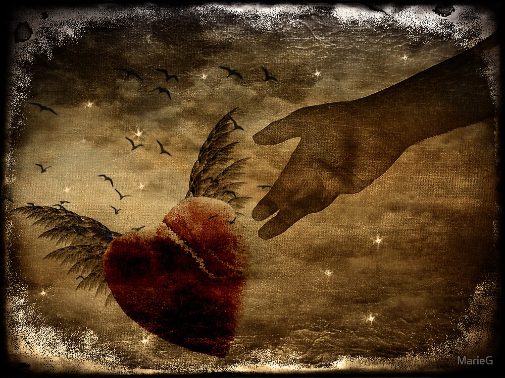 How can you mend a broken heart...a tribute by MarieG