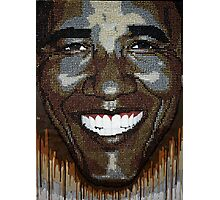 "President Obama ""Wet Paint"" Photographic Print"