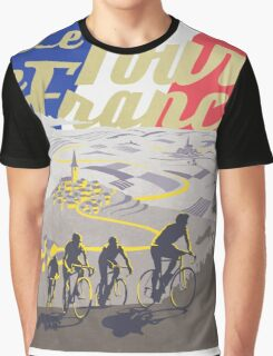 Le Tour de France retro poster Graphic T-Shirt