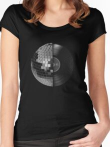 Disco Women's Fitted Scoop T-Shirt