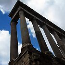 """""""The Temple of Saturn"""" by Micah Samter"""