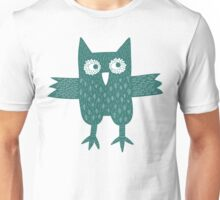 Green Owl Unisex T-Shirt