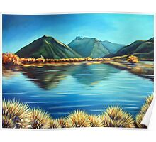 Glenorchy, New Zealand by Ira Mitchell-Kirk Poster