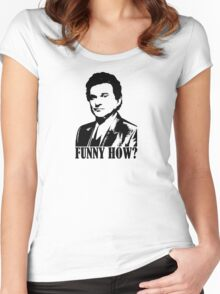 Goodfellas Joe Pesci Funny How? Tshirt Women's Fitted Scoop T-Shirt