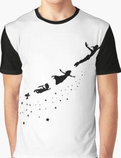 Peter Pan Flying Graphic T-Shirt